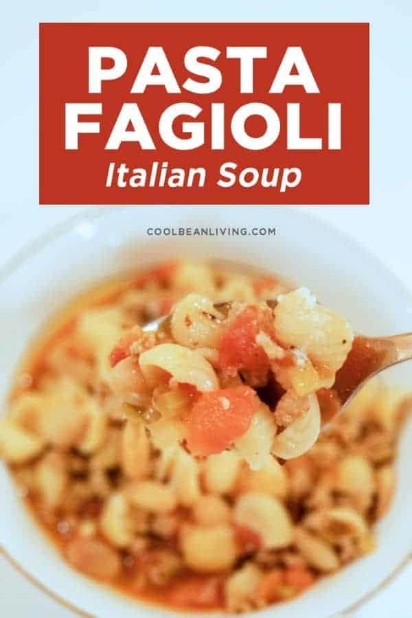 Pasta e Fagioli Italian Soup