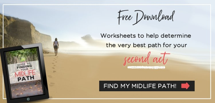 Free Printable Worksheet to Determine Your Second Act