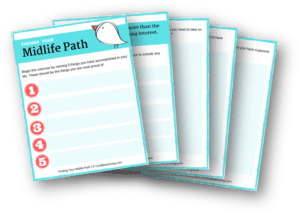 Finding Your Midlife Path Worksheet