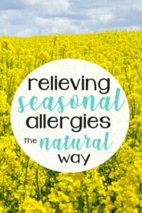 Relieving Seasonal Allergies the Natural Way