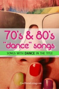 """70s and 80s """"dance"""" songs"""