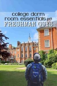 College Dorm Room Essentials for Freshman Guys