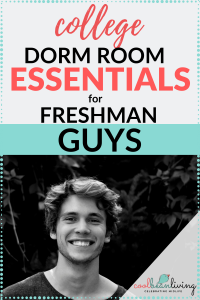Dorm Essentials for Freshman Guys