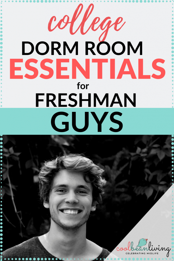 Dorm Essentials for Freshman Guys