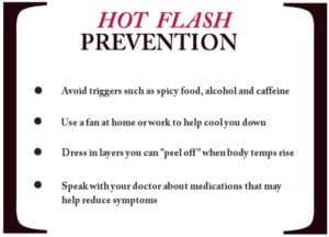 hot flash prevention