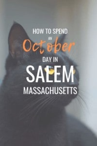 A day in Salem Massachusetts