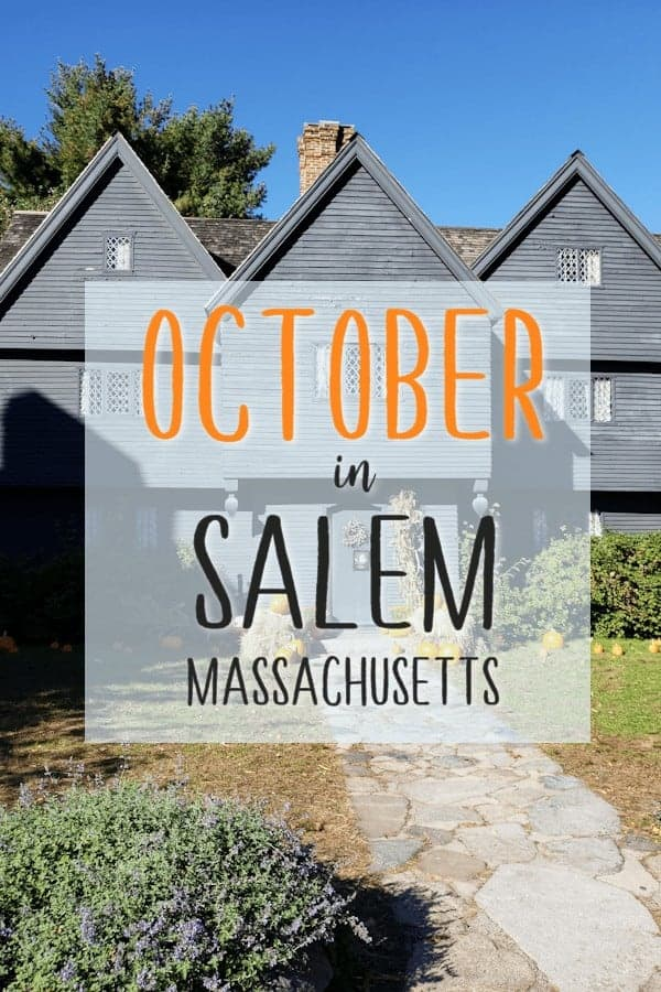 October in Salem, Massachusetts