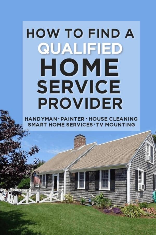 How to find a qualified home service provider