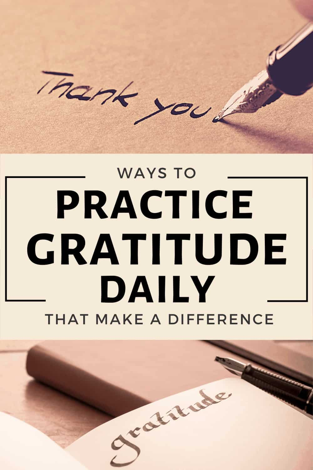 Ways To Practice Gratitude and Make a Difference