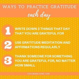 3 Ways to Practice Gratitude Each Day