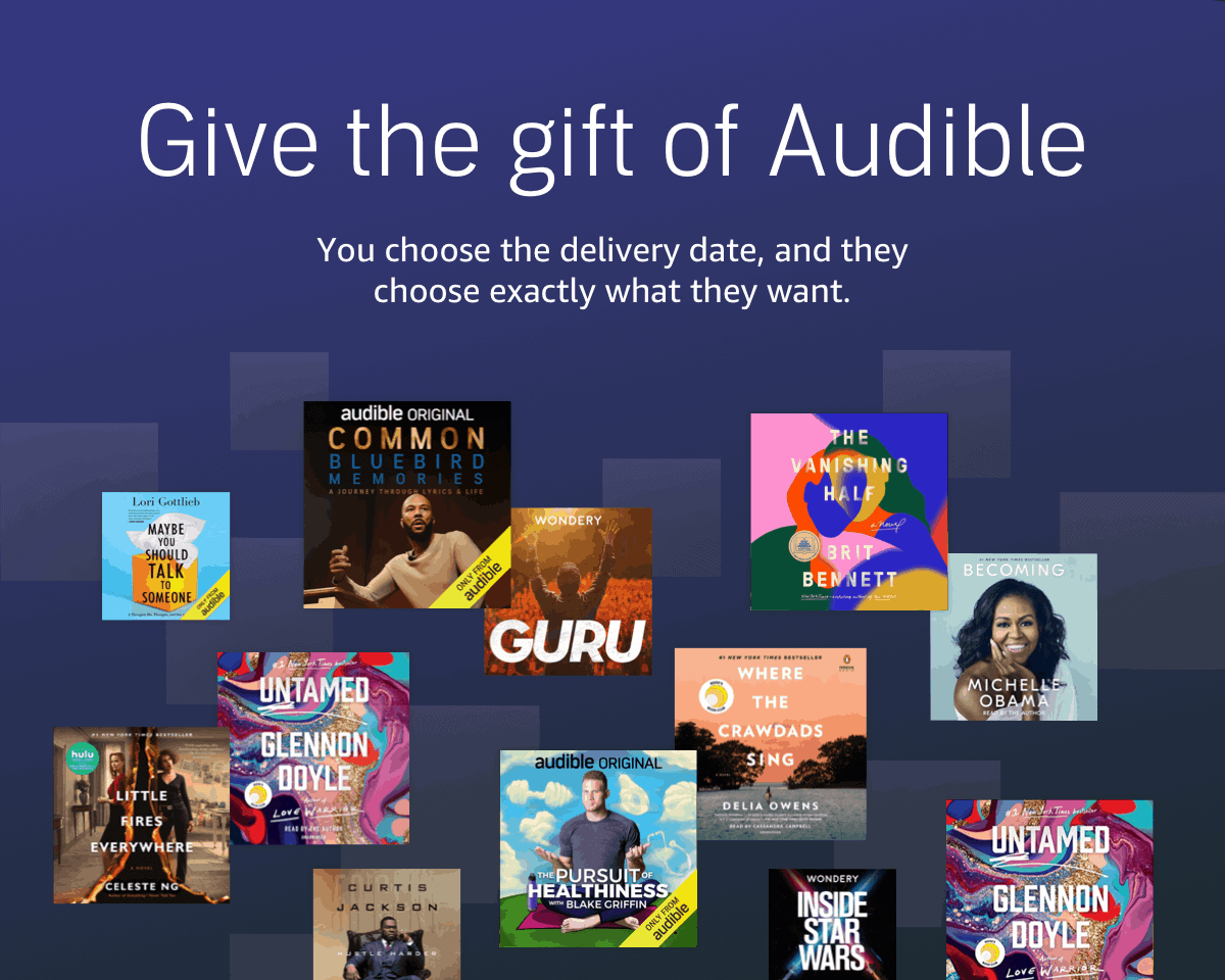Audible Book Gift Certificate