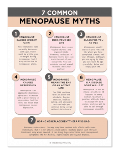 7 Common Menopause Myths