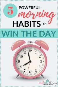 powerful morning habits