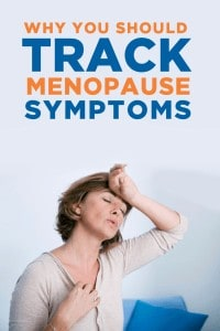 Tracking your menopause symptoms is important