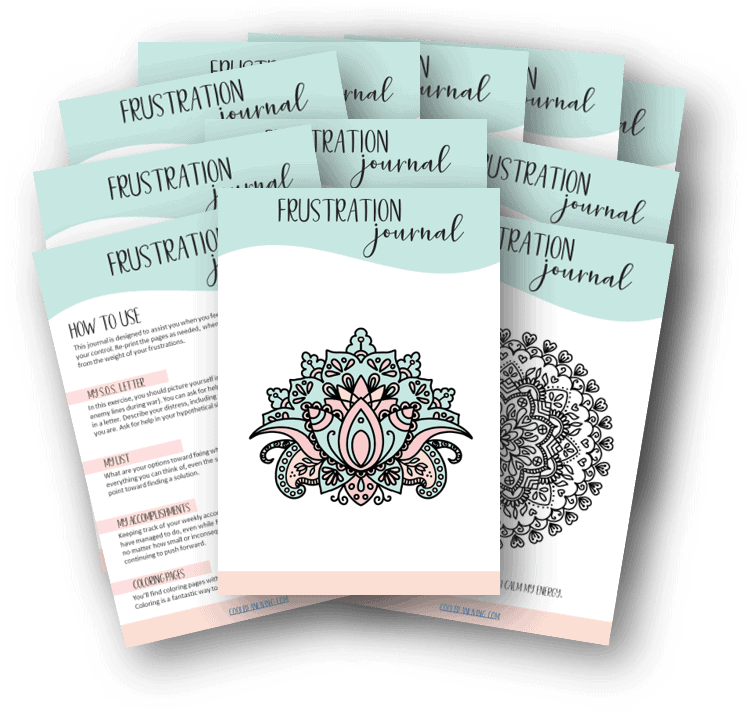 Printable Frustration Journal