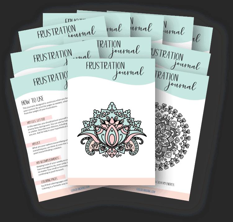 Printable Frustration Journal