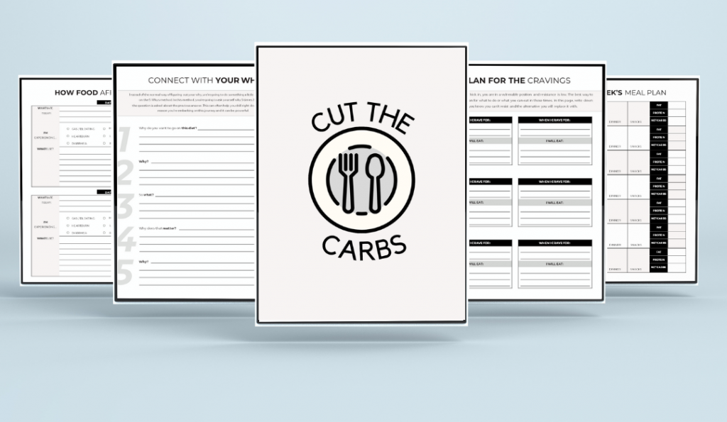 Cut the Carbs Keto Planner