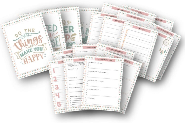 pages to plan your future journal
