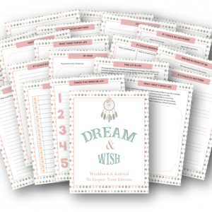 Plan your dreams workbook and journal
