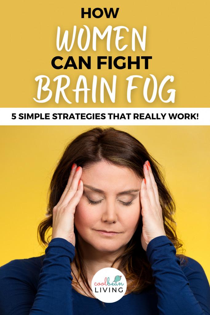 woman dealing with brain fog