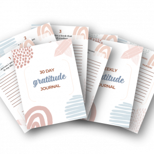 30 day gratitude journal