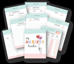 printable anxiety tracking log