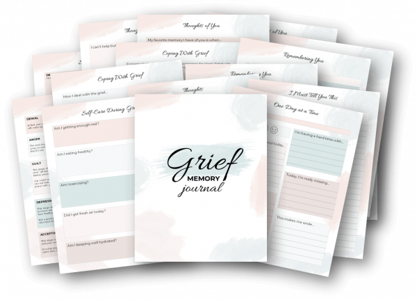 grief healing journal