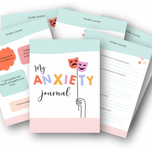 anxiety journal printable