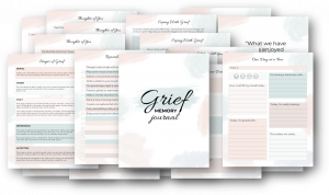 grief and memory journal
