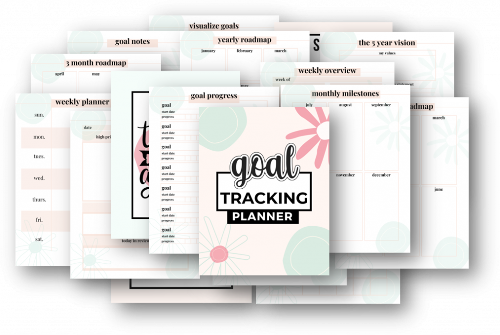 goal tracking planner