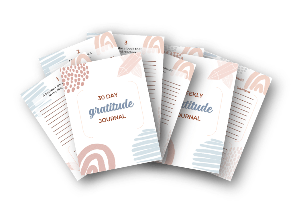 30 day gratitude journal and planner