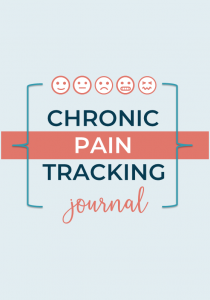 chronic illness and pain tracking journal