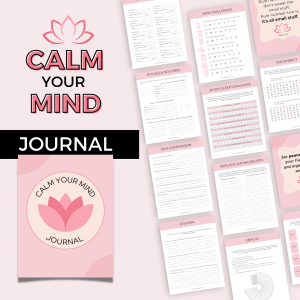 calm your mind journal