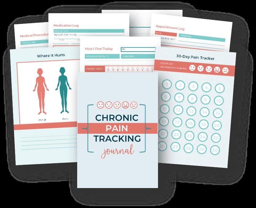 chronic pain tracking journal