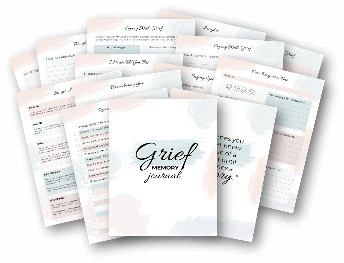 grief memory journal