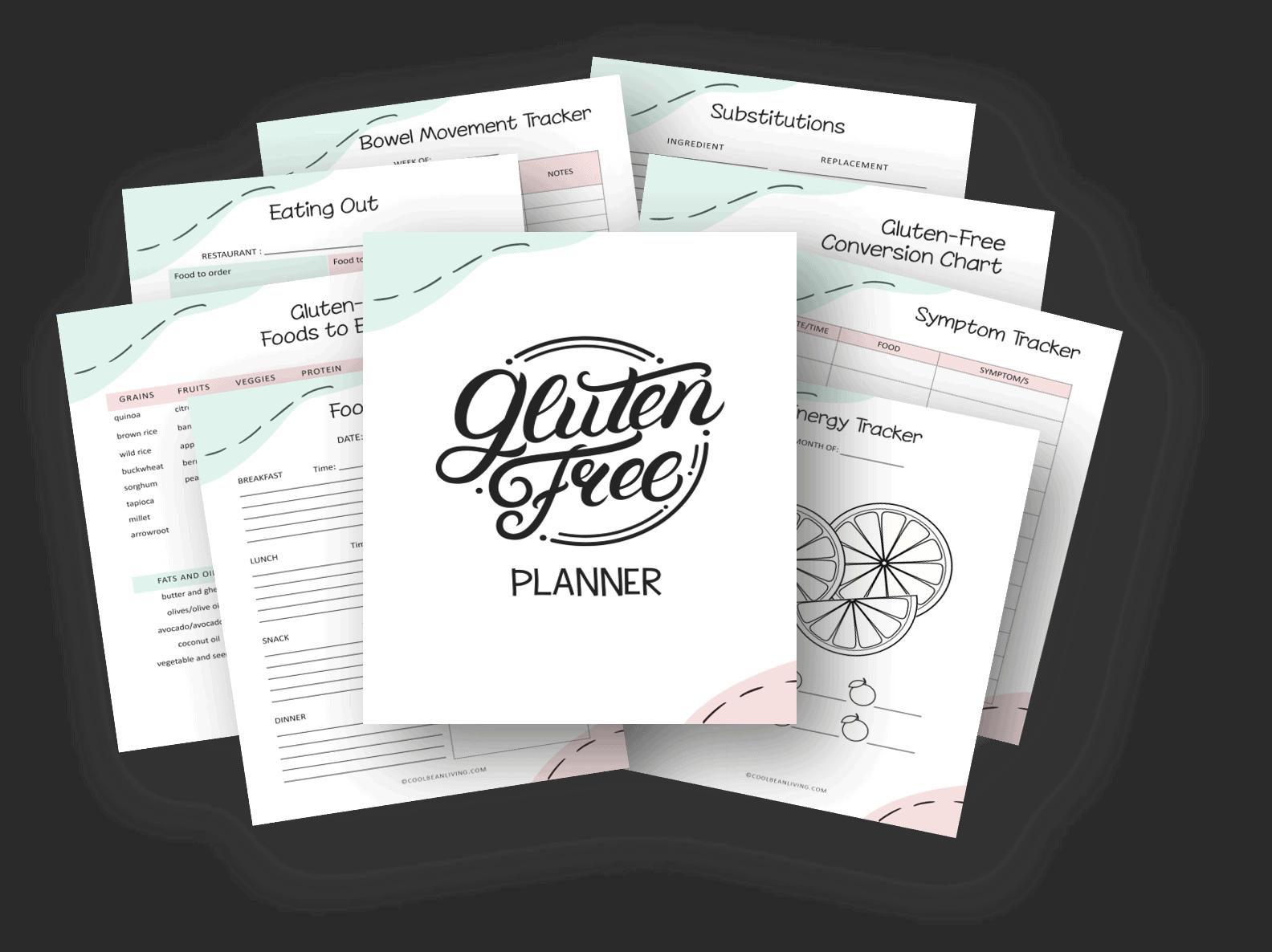 gluten-free diet planner