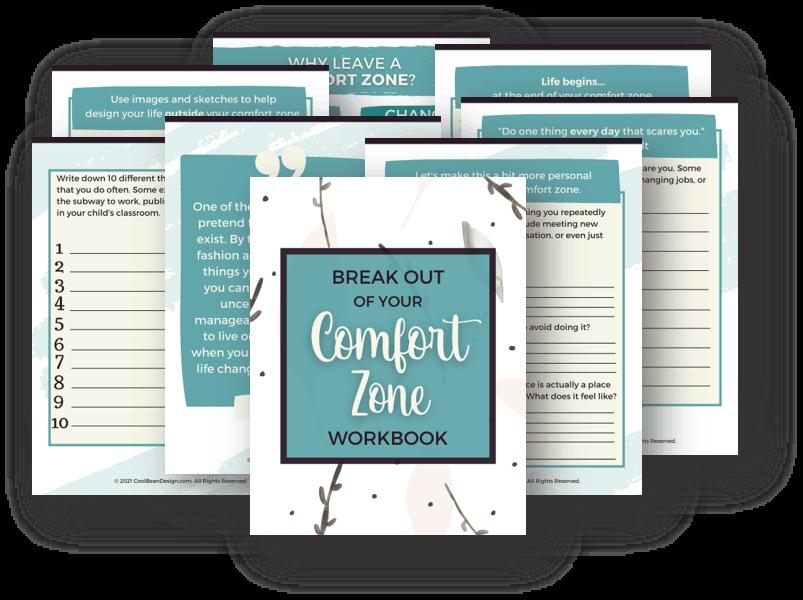 comfort zone workbook
