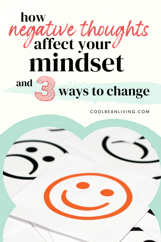 how negative thoughts affect your mindset